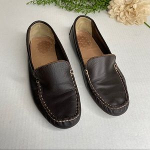 Crewcuts Brown Leather Driving Moccasin Loafers 5
